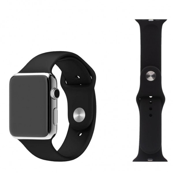 Casefree Apple Watch Uyumlu 42 / 44 Mm Kordon Silikon Kayış